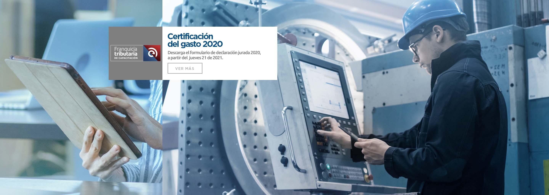 Certificación del Gasto 2020