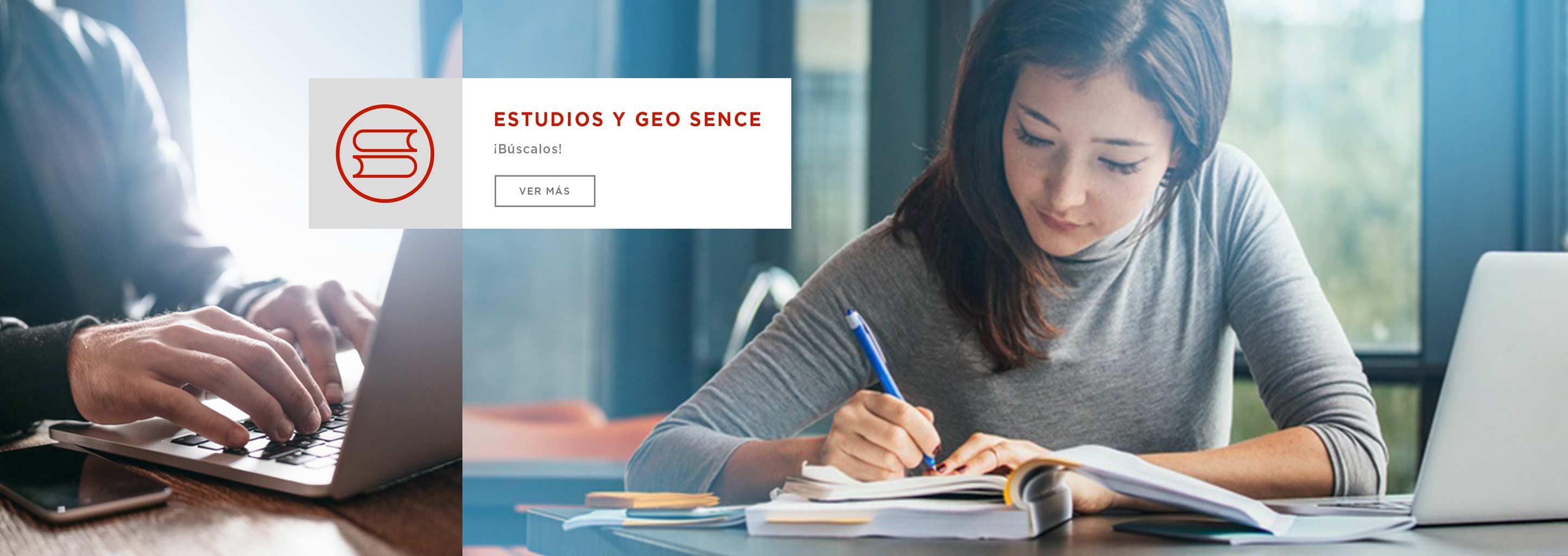 Estudios y GEO SENCE