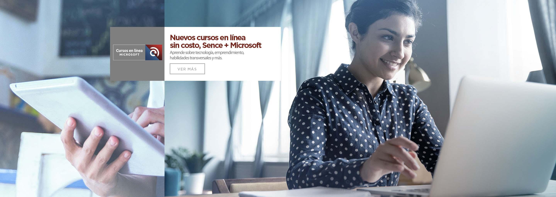 Cursos en línea Sence y Microsoft