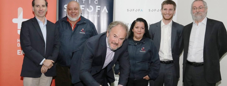 firma de acuerdo SENCE, SOFOFA, OTIC SOFOFA, el Movimiento Nacional de Recicladores de Base de Chile y Fundación Emplea