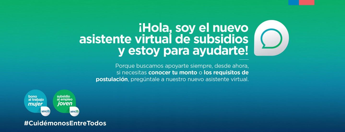 Sence Implementa Nuevo Asistente Virtual De Subsidios Para La Atencion Ciudadana Sence